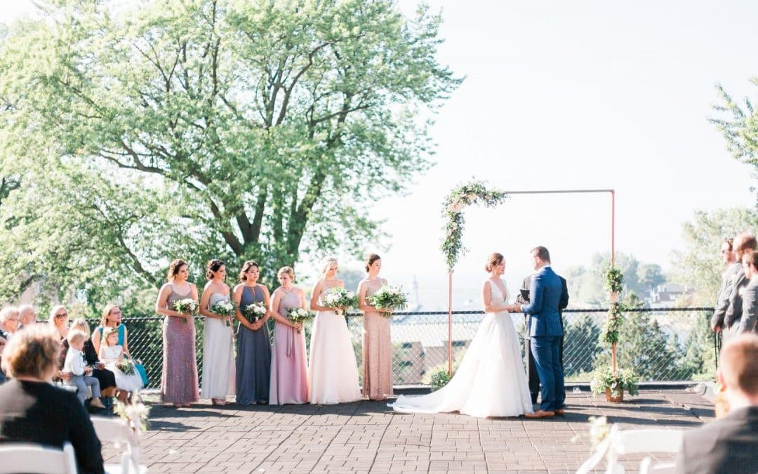 Wedding Colors: Real Wedding with Soft Hues